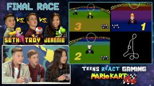 Teens React to Mario Kart 64