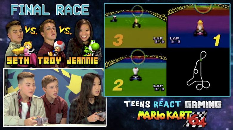 Teens React to Mario Kart 64