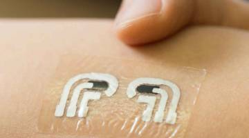 Glucose Measuring Temporary Tattoo