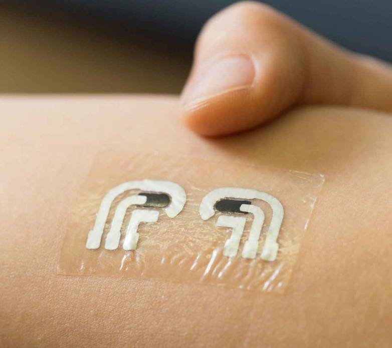Glucose Measuring Temporary Tattoo