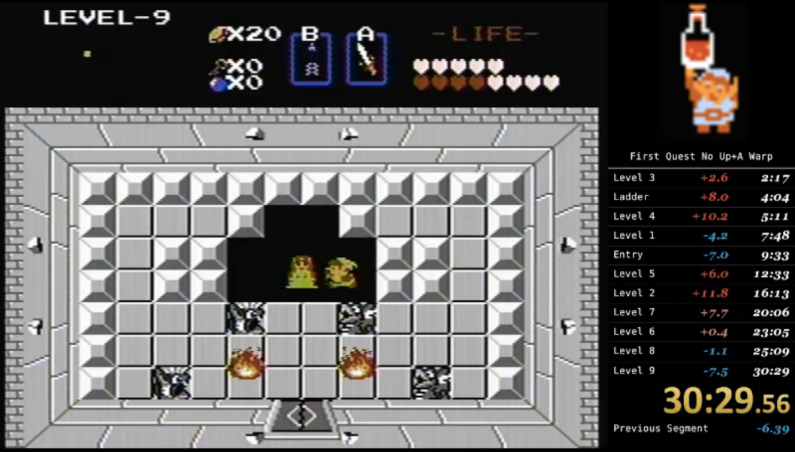 The Legend of Zelda World Record