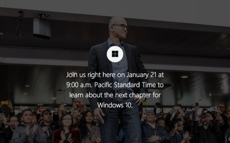 Windows 10 Event Live Stream