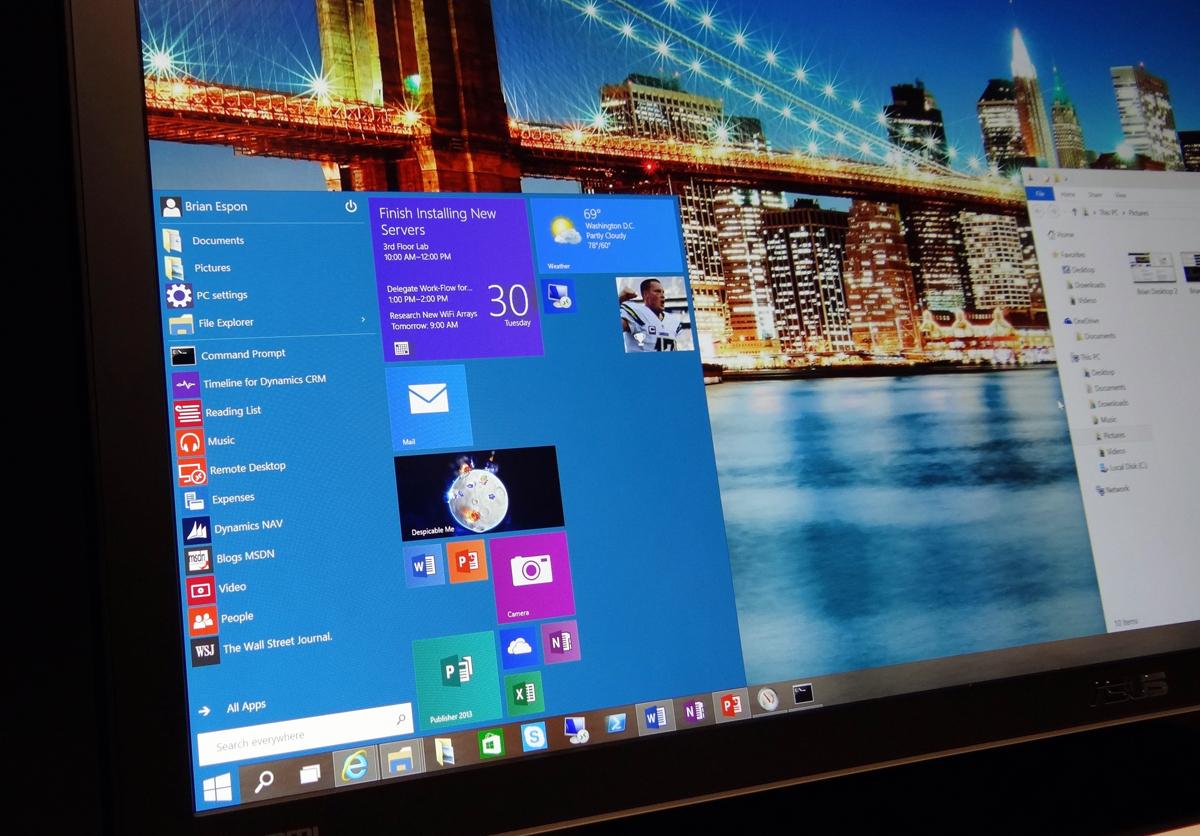 Windows 10 Best Features List