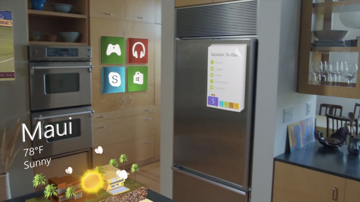 Microsoft Reveals Windows Holographic