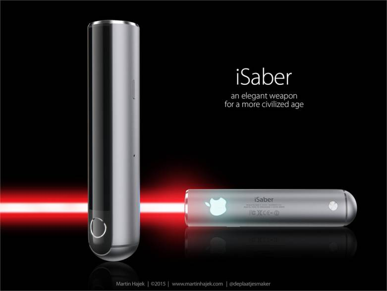 Lightsaber Design Jony Ive