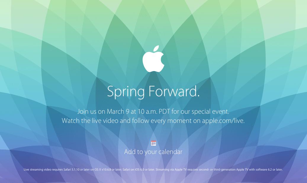 Apple Watch Event Live Stream