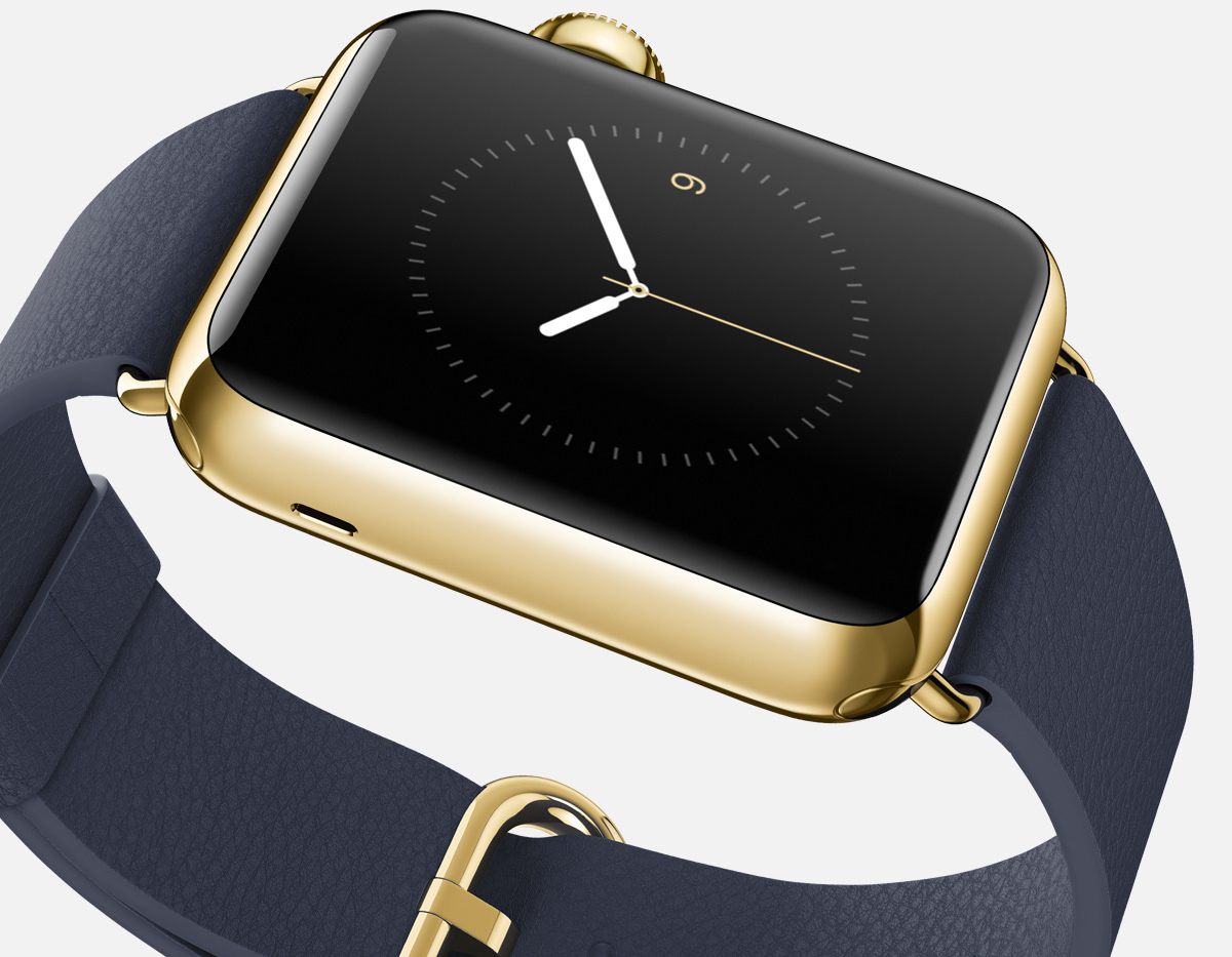 apple watch 18k gold