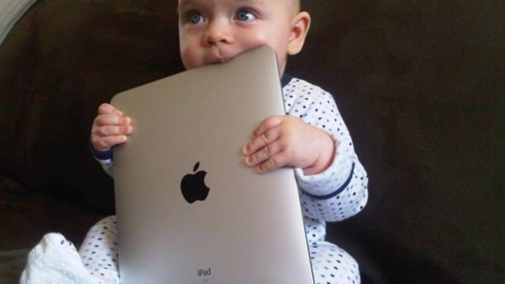 iPads Tablets Young Children Use