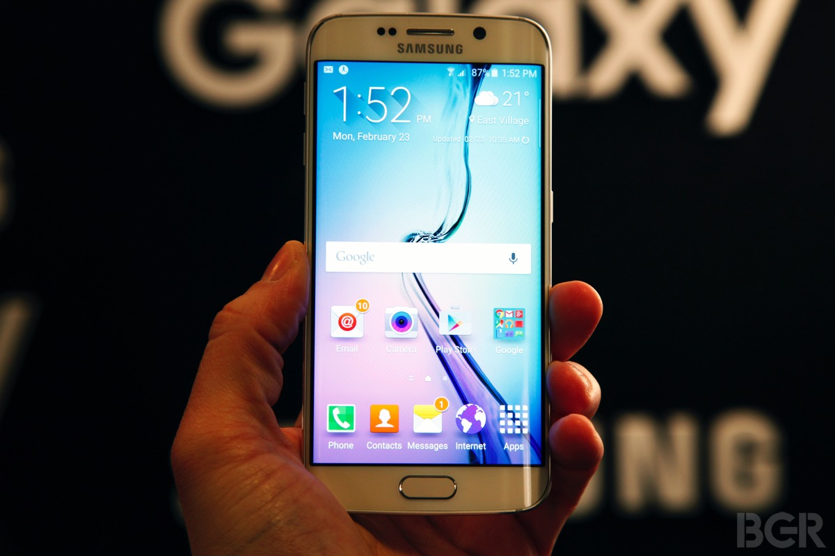 Verizon Galaxy S6 S6 edge Preorder