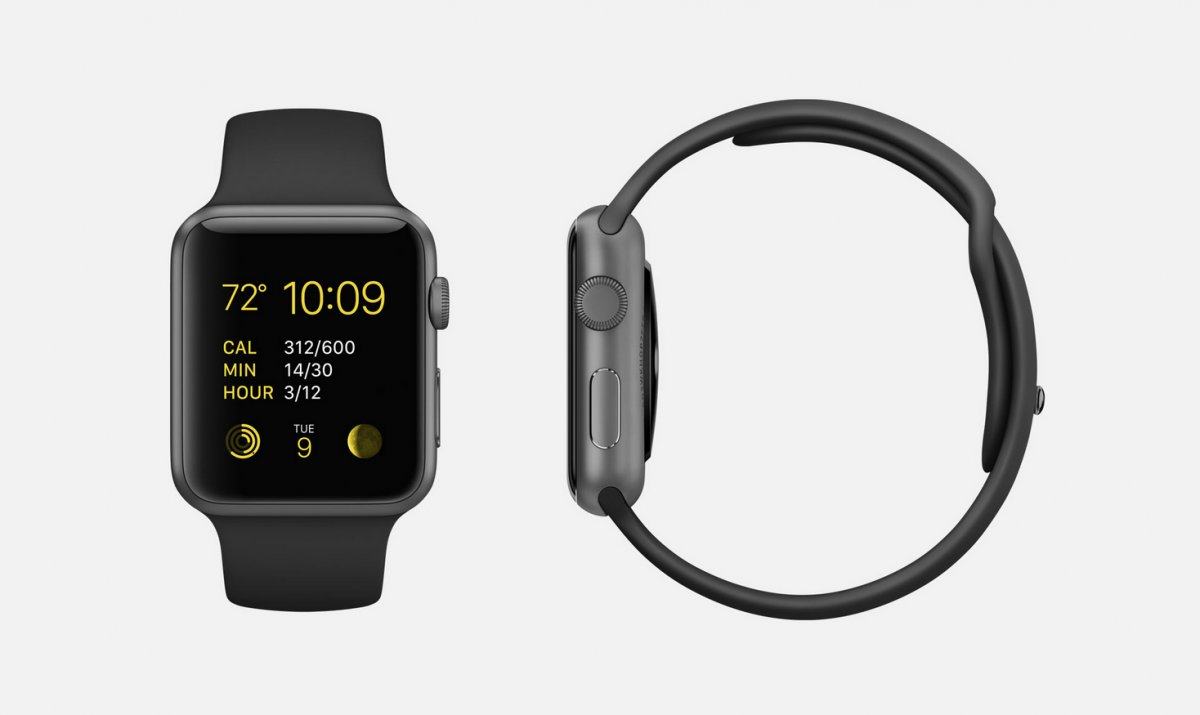 black-sport-7000-series-space-gray-aluminum-apple-watch-sport-38mm-or-42mm-case-with-black-fluoroelastomer-sports-band-space-gray-stainless-steel-pin-ion-x-glass-retina-display-and-composite-back