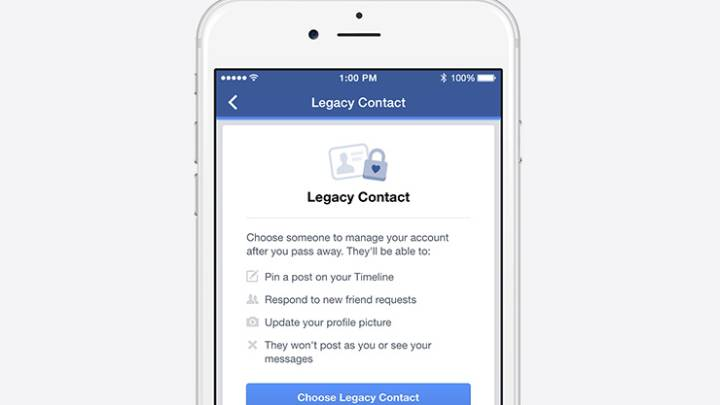 Facebook and Death: Legacy Contact