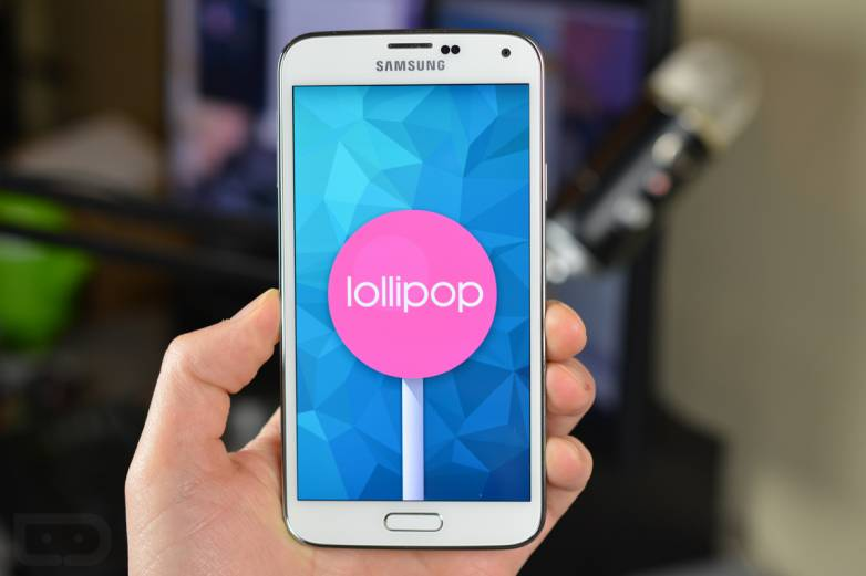 Samsung Galaxy S5 Lollipop Update