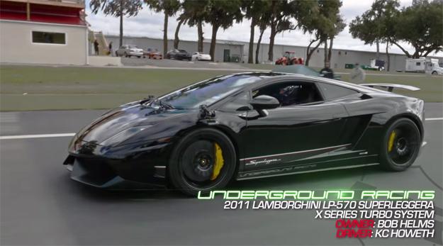 Lamborghini Gallardo Race Video