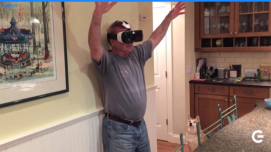 Samsung Gear VR Reaction Video
