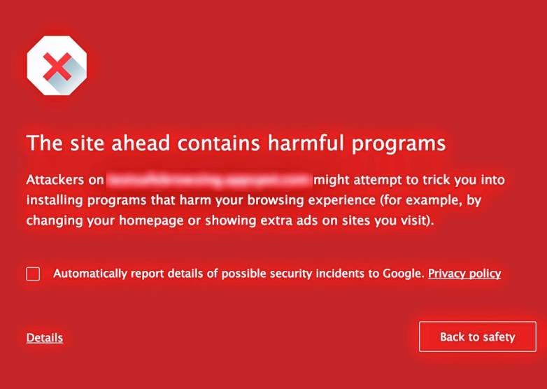 Google Chrome Malware Protection