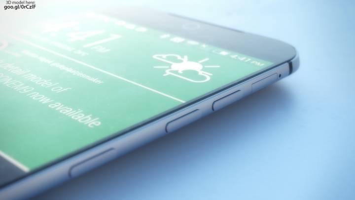 HTC One M9 Design Images