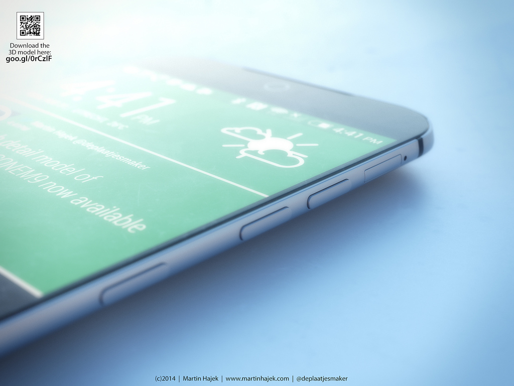 HTC One M9 Design Images