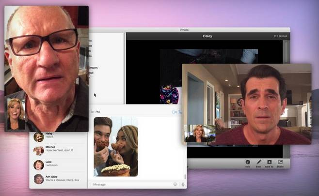 iPhone 6, iPad Air 2 and Modern Family