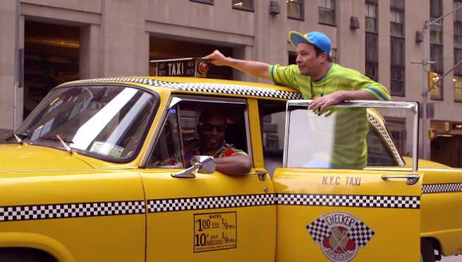 Jimmy Fallon: Will Smith Bell Air Parody