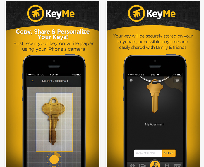 Best iOS Apps KeyMe