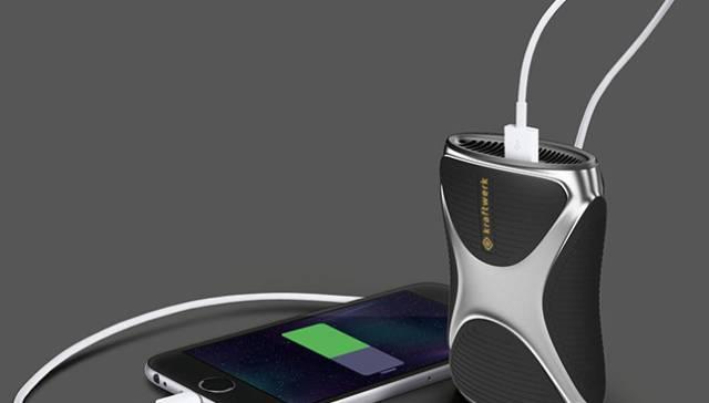 Kickstarter Kraftwerk iPhone and Android Fuel Cell
