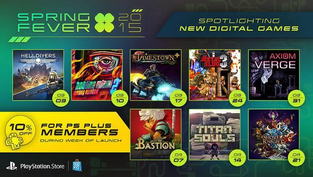 PS4 Spring Fever 2015