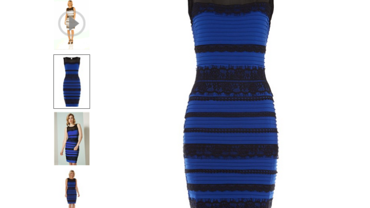 The Dress White Gold Vs. Blue Black
