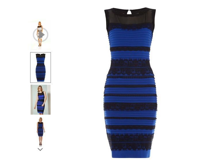 The Dress White Gold Vs. Blue Black
