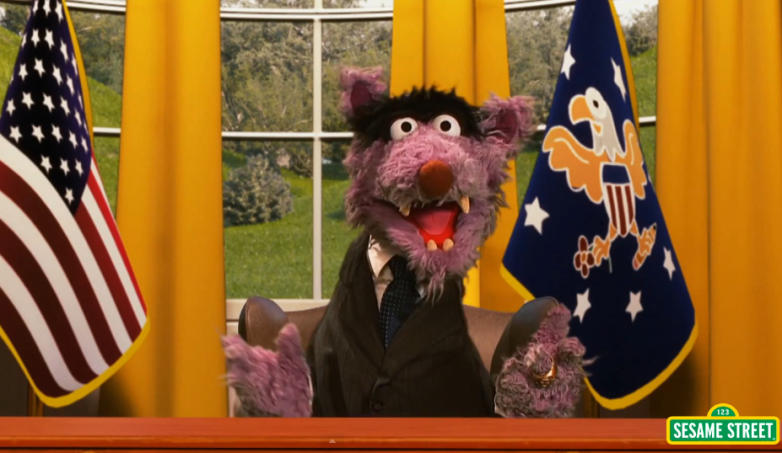 Sesame Street House Of Cards Parody