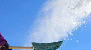 Snow Shovel Lifehack