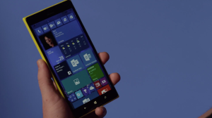 Microsoft Windows Phone Hover Gestures