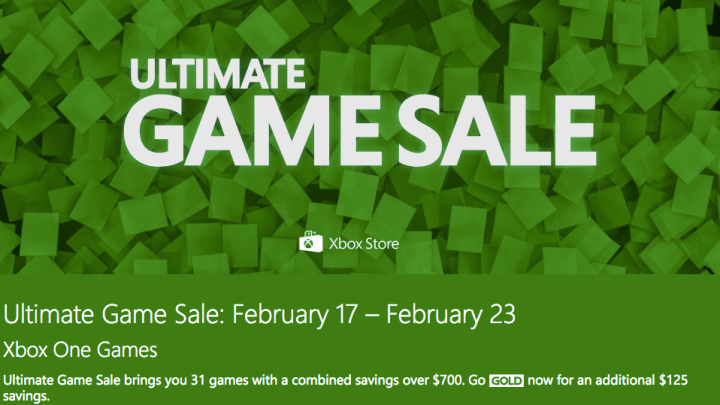 Xbox One Ultimate Game Sale
