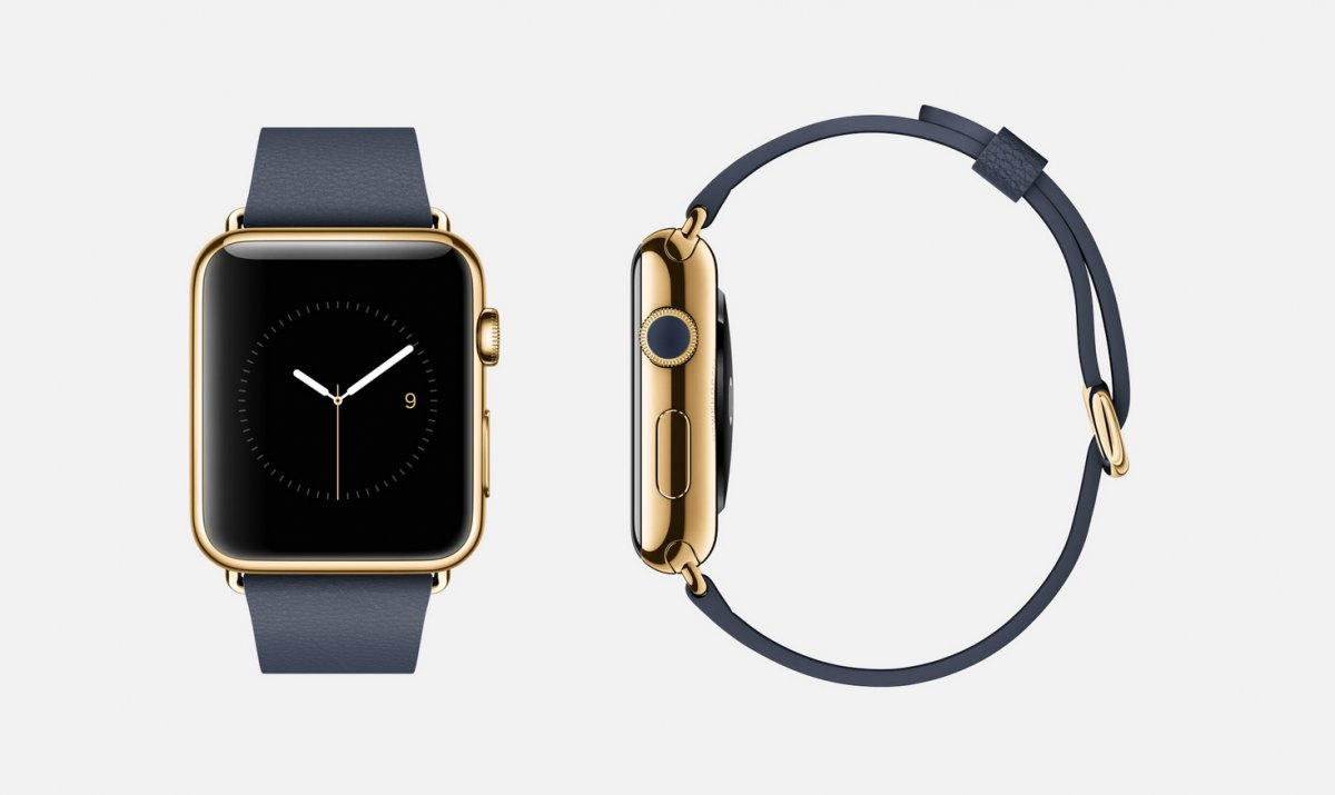 yellow-gold-edition-with-blue-band-18-karat-yellow-gold-apple-watch-edition-42mm-case-only-with-midnight-blue-leather-classic-buckle-band-18-karat-yellow-gold-buckle-sapphire-crystal-retina-display-and-ceramic-back