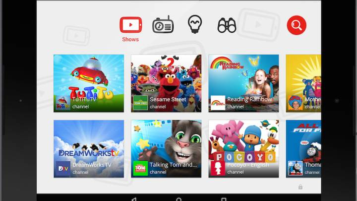 YouTube Kids for iPhone and Android