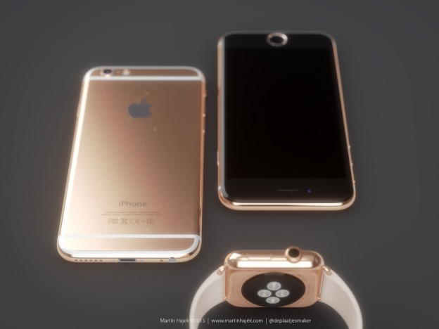 Iphone 6s Gold The Rose Gold Iphone 6s