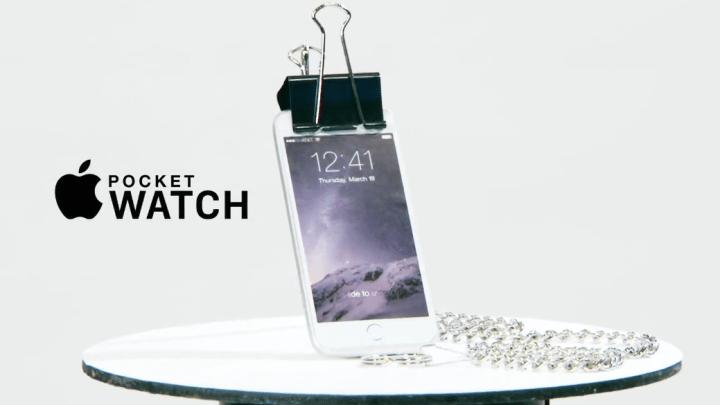 Conan Apple Pocket Watch Video