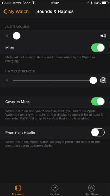 Apple Watch iPhone app photos revealed