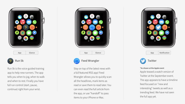 Apple Watch Apps Demo