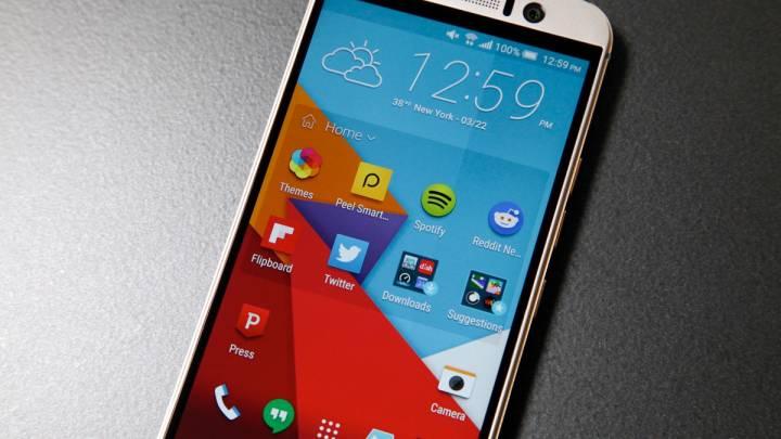 HTC One M9 Benchmark Temperature