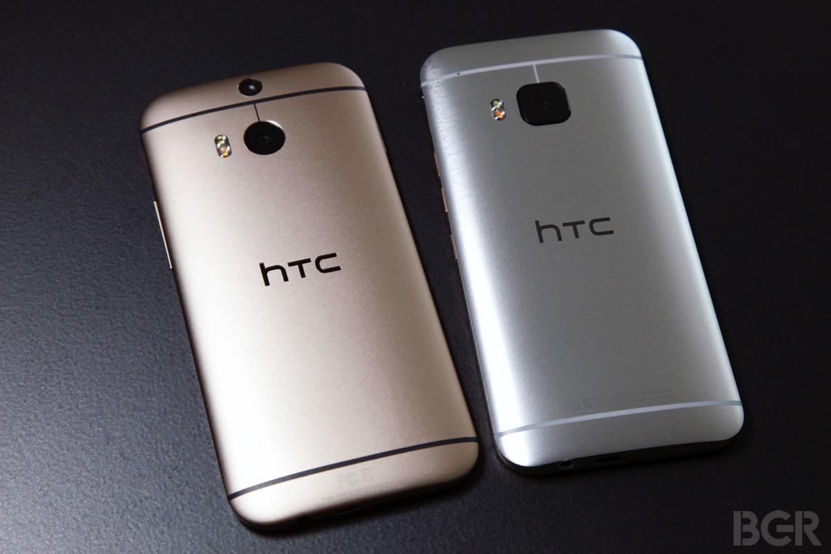 HTC One M9 vs. M8