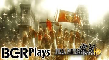 Final Fantasy Type-0 HD Gameplay Video