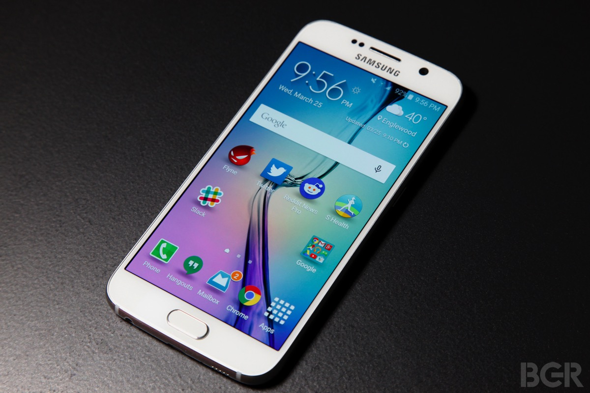 Galaxy S6 and Galaxy S6 edge Name