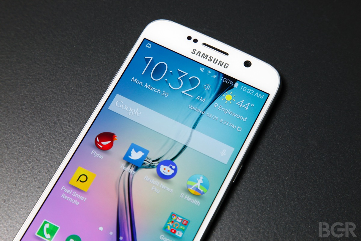 Samsung Galaxy S6 Verizon AT&T Apps