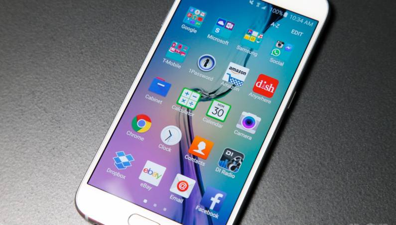 Galaxy S6 and S5 TouchWiz UI