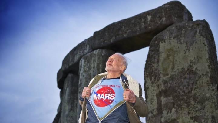 Buzz Aldrin Mars