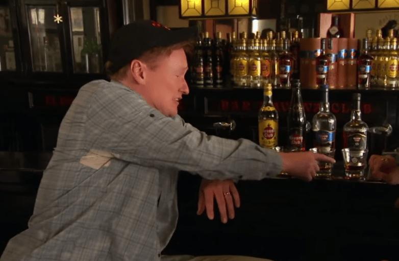Conan O'Brien Cuban Rum Video