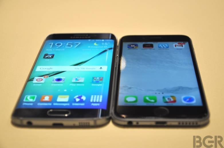 Galaxy S6 vs. iPhone 6 Release