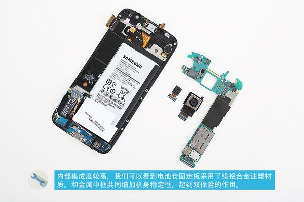 Galaxy S6 battery replacement: Not an easy DIY to improve battery life ...