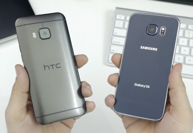 Galaxy S6 edge vs. HTC One M9: Drop