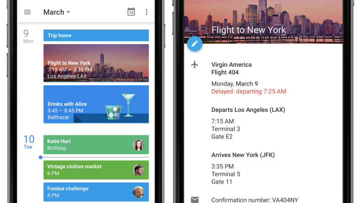 Google Calendar iPhone App